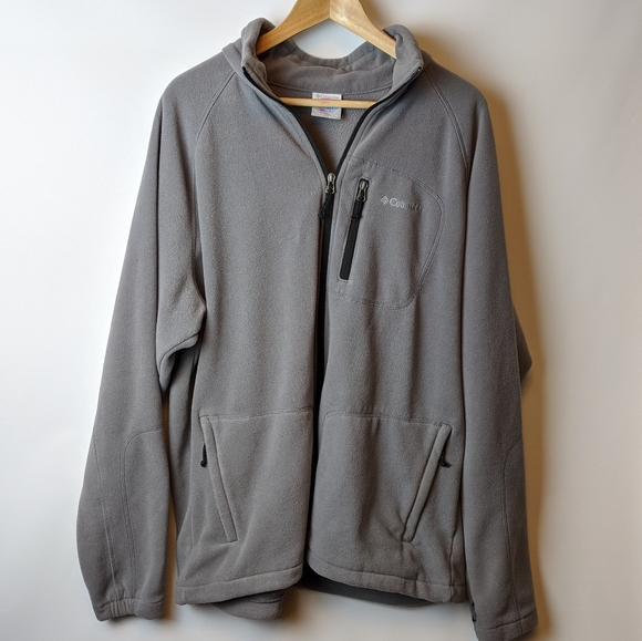Columbia Sportswear fleece zip up jacket